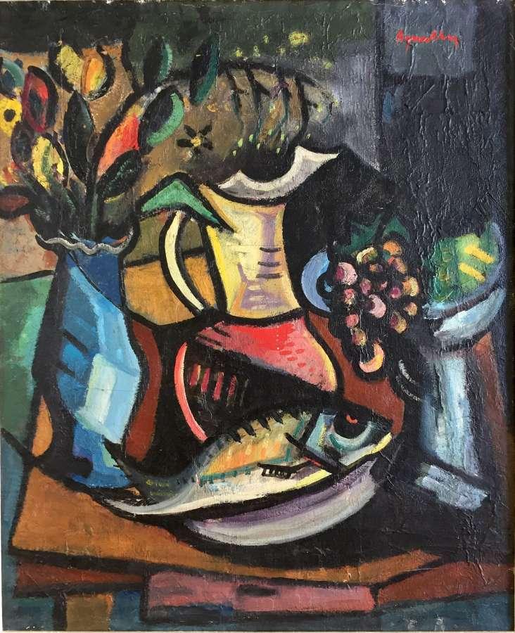 Louis Amalvy - Repas d'Artiste