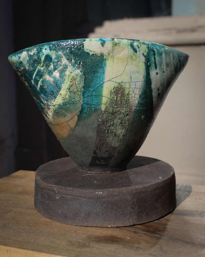 Seagreen Ceramic by Gillian Clarke