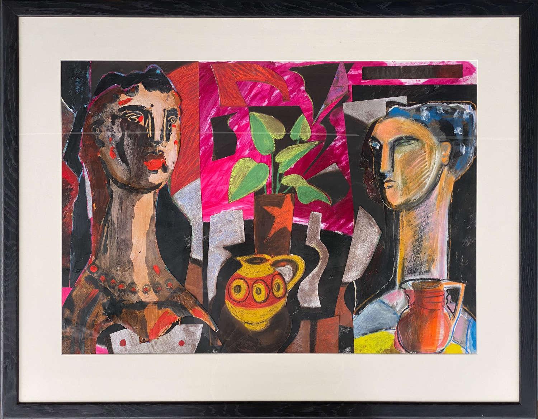 In the Studio by Naomi Munuo