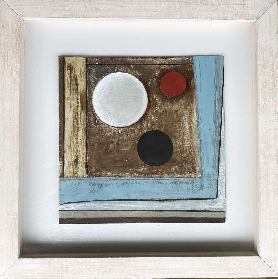 Three Circles With Red - John Taylor