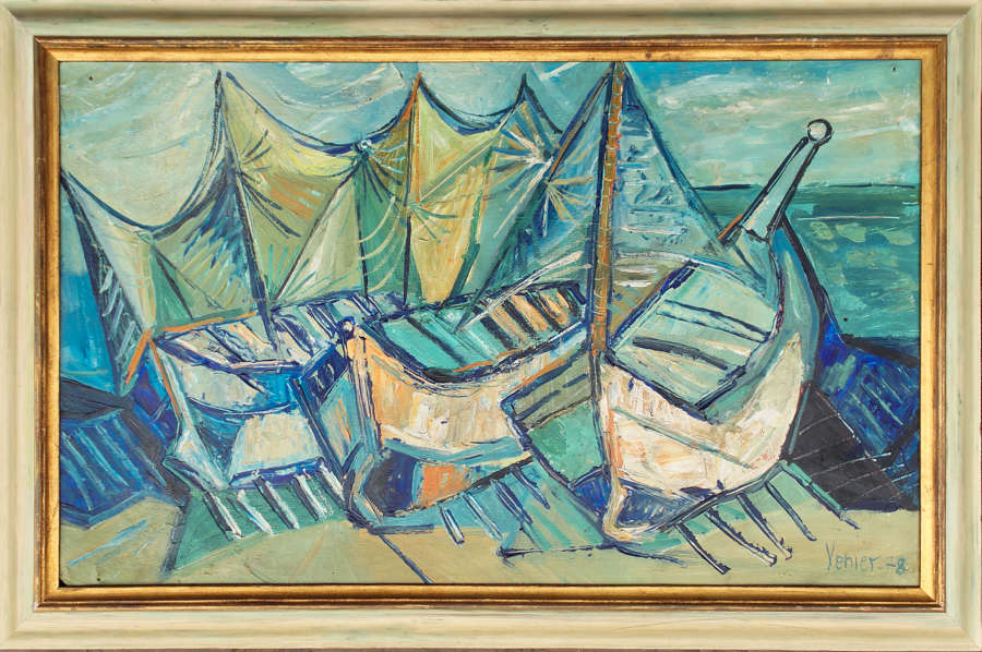 Fishing Boats - Bruno Venier