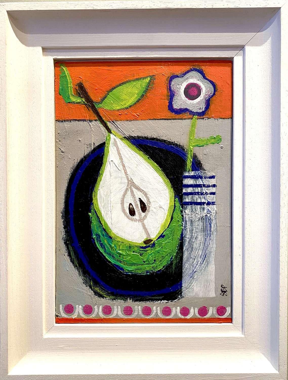Summer Pear and Blossom - Sarah Baddon Price