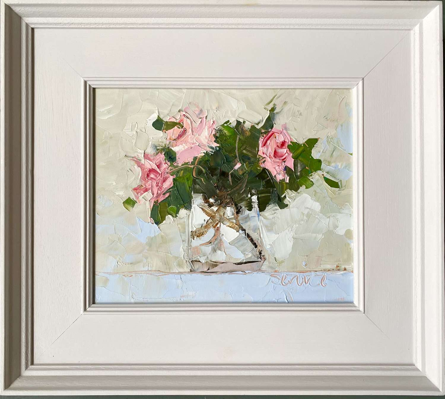 Roses in Glass Jug - Mike Service