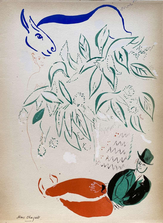 Dans la Fôret - after Marc Chagall