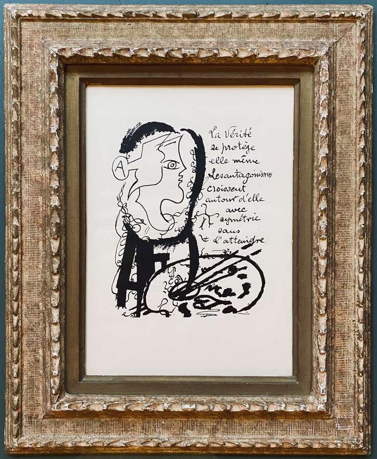 La Vérité - after Georges Braques