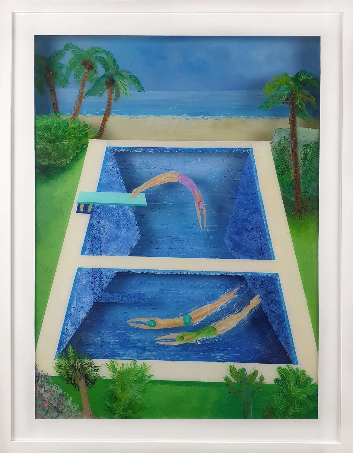 Tropical Pool - Mike Becket
