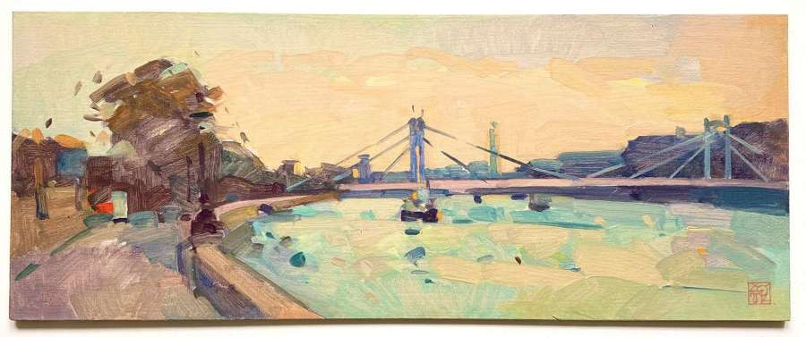 Morning Light, Albert Bridge - Natalia Avdeeva