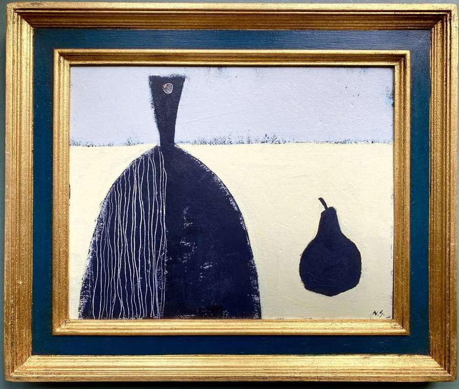 Chopping Board with Pear - Neil Giles