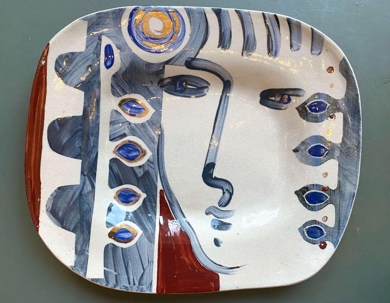 Summer Gold Platter - Kate Reynolds
