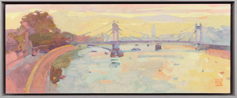 Albert Bridge Evening - Natalia Avdeeva