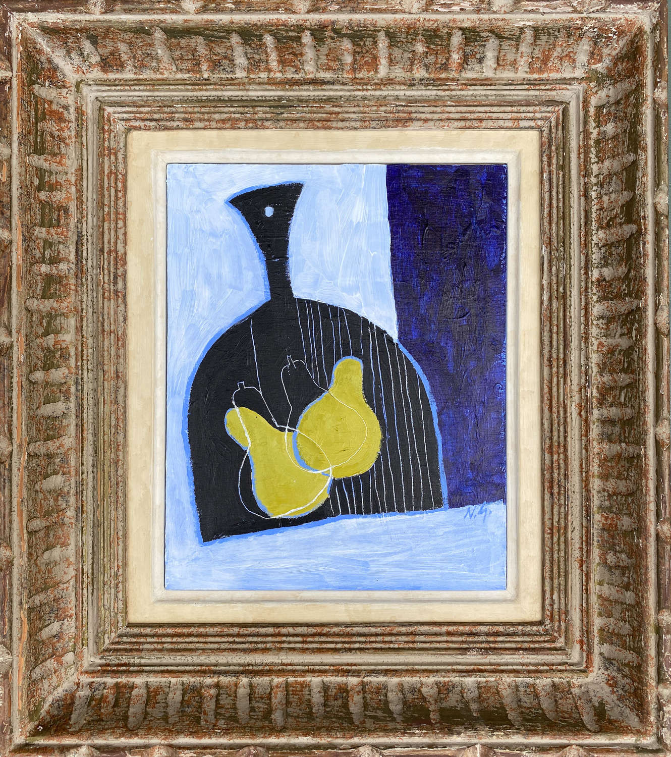 Pears on Chopping Board - Neil Giles