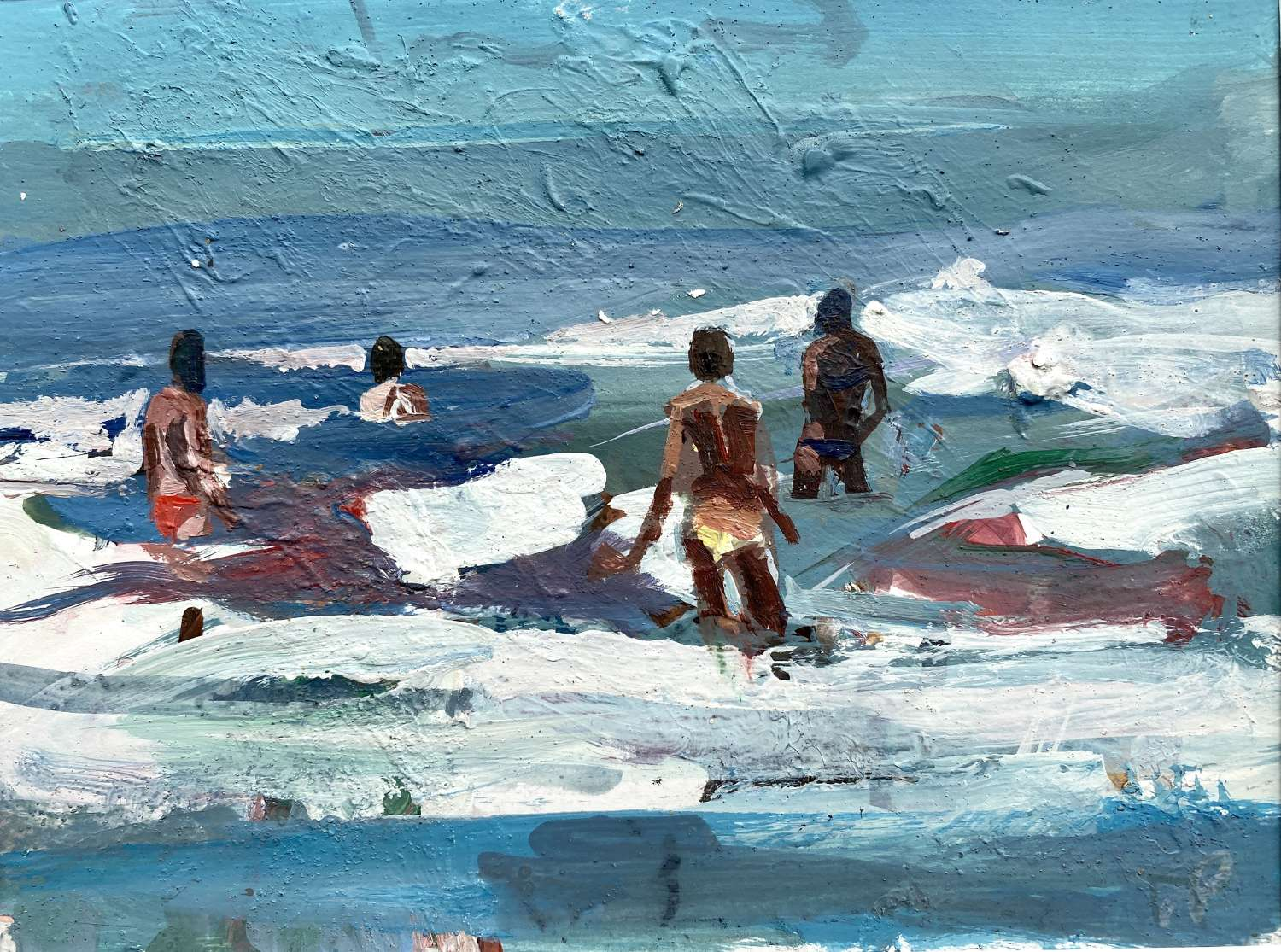 Into the Waves - Mark Pearson