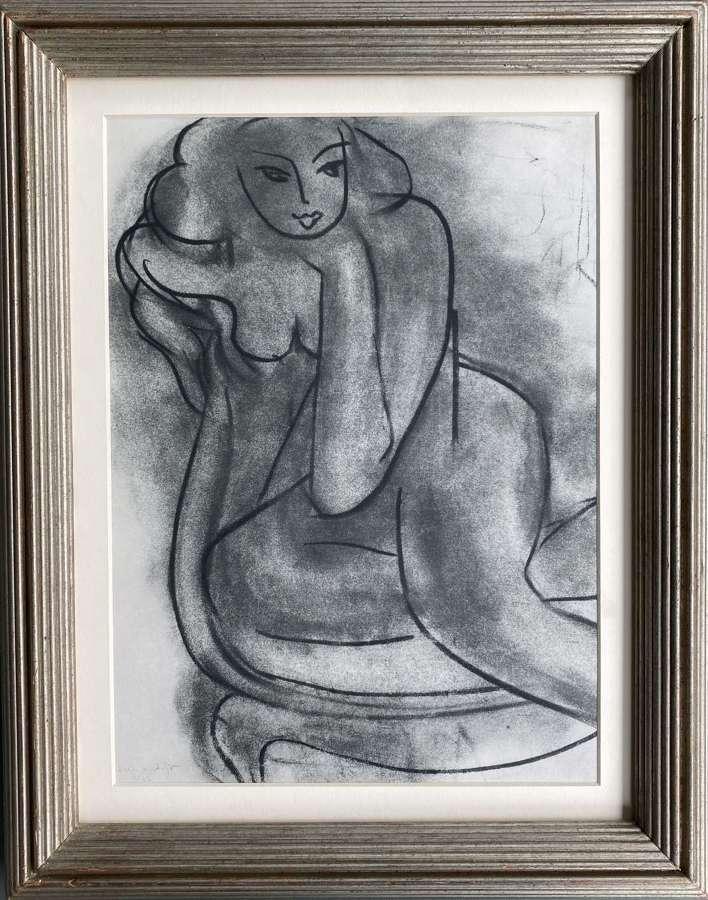 Nude 11 - After Henri Matisse