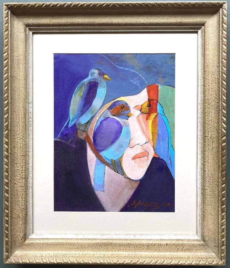 Mes Oiseaux - Martine Mazoy