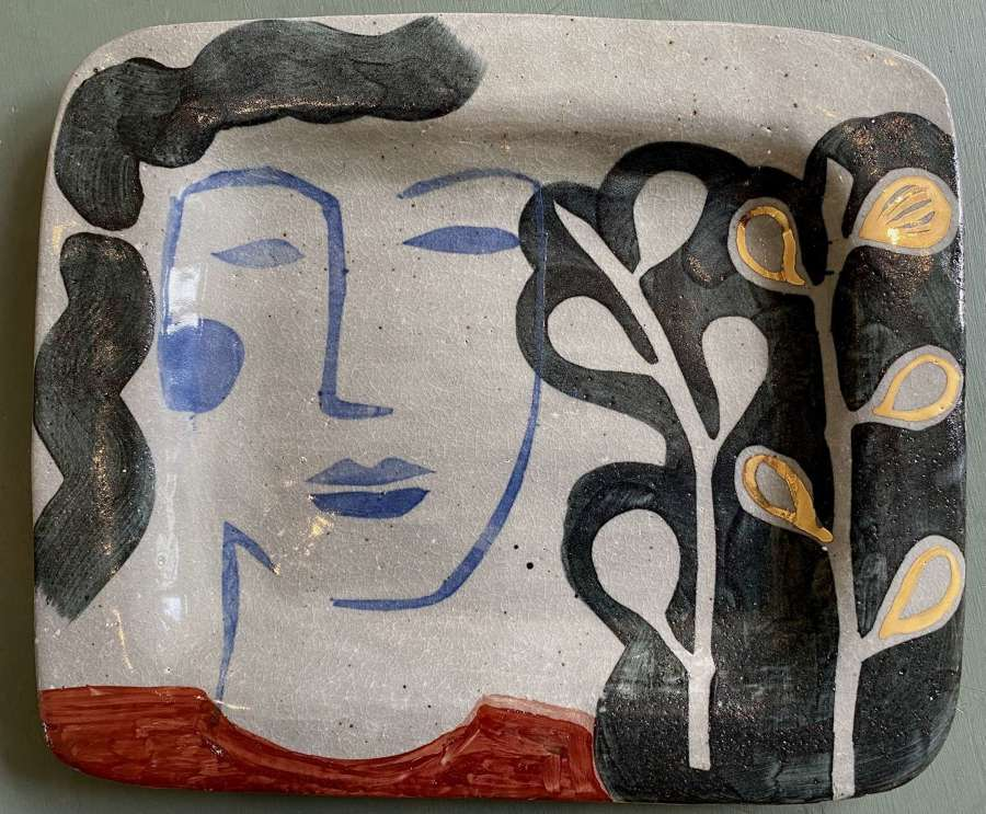 Face and Figs  Platter - Kate Reynolds
