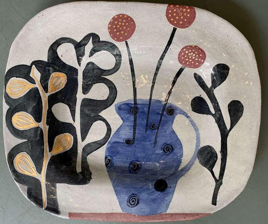 Golden Figs and Jug Platter - Kate Reynolds